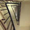 A glimpse through a window on the Main Stair shows this very sweet back staircase. Shoehorned into a rough triangular shape in plan it runs  from the basement to the Upper […]